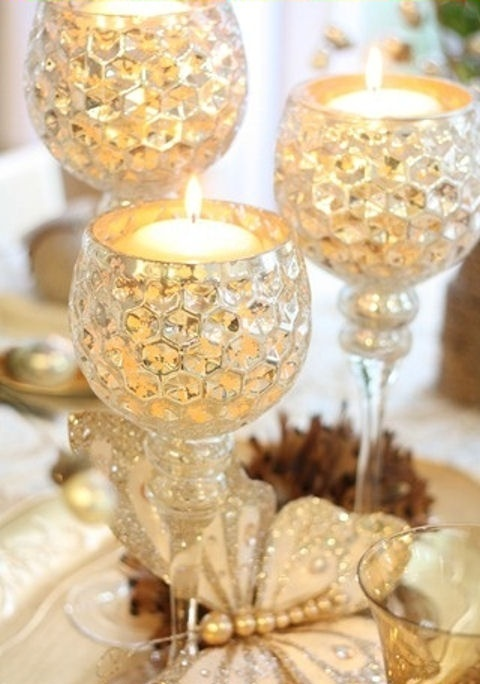 35 Gold Thanksgiving Dcor Ideas DigsDigs