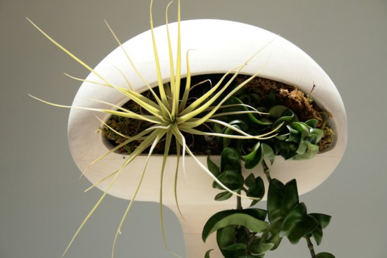 Futuristic Alien Like Planters Golly Pods By Tend Digsdigs