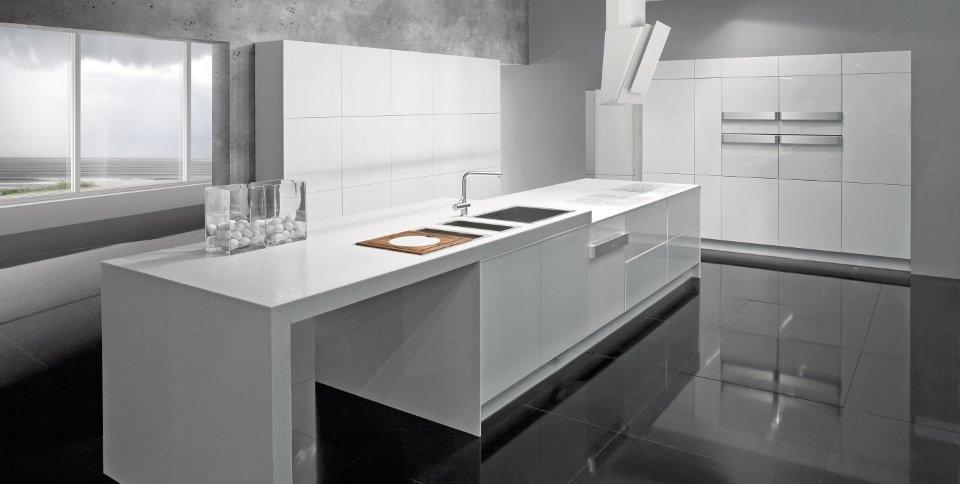 New White Appliances ~ Modern white kitchens beautiful home
