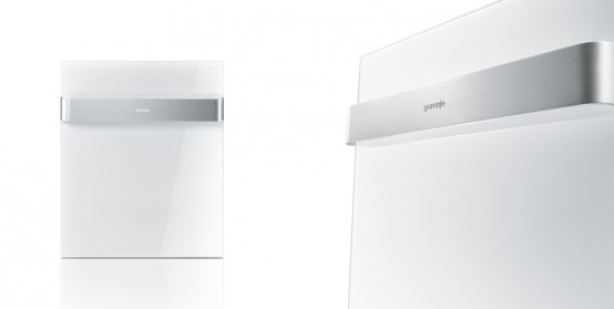 Ora-Ito White Dishwasher Decor Panel