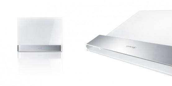 Ora-Ito White Microwave Decor Panel