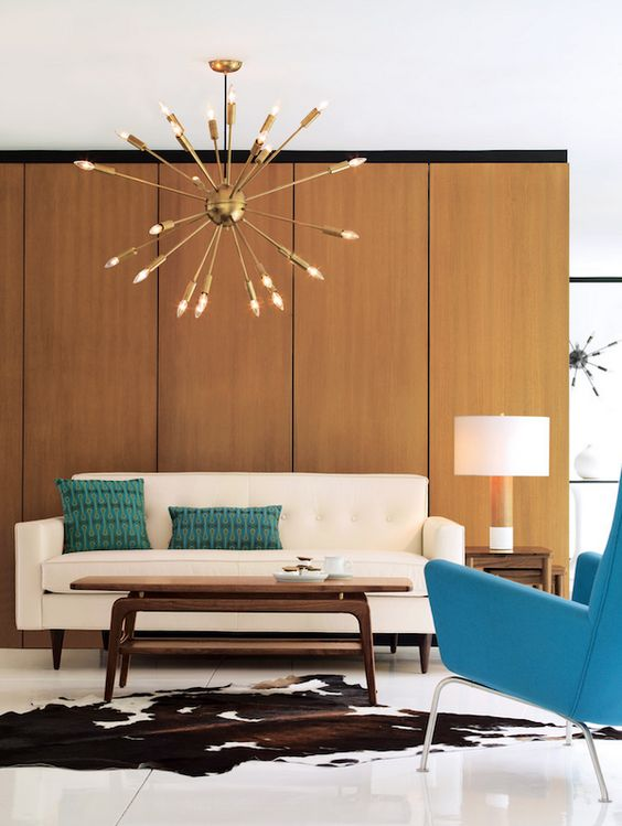 Picture Of gorgeous airy mid century modern living rooms  13