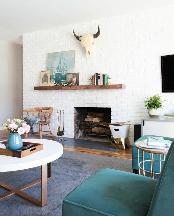Picture Of gorgeous airy mid century modern living rooms  17