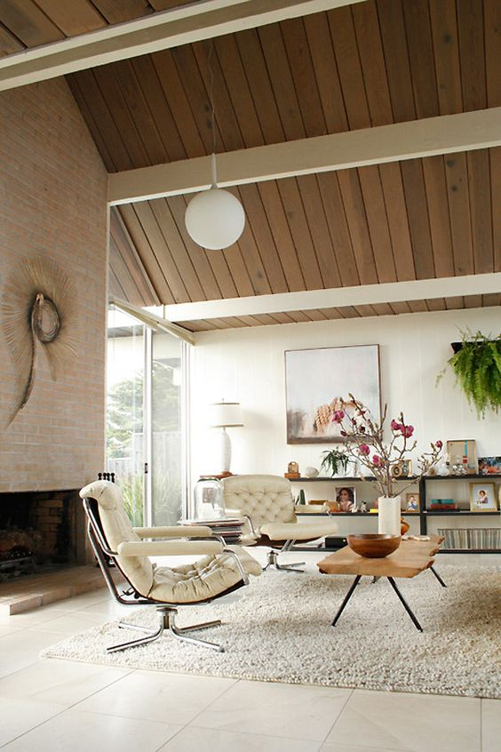 gorgeous airy mid century modern living rooms 20 digsdigs