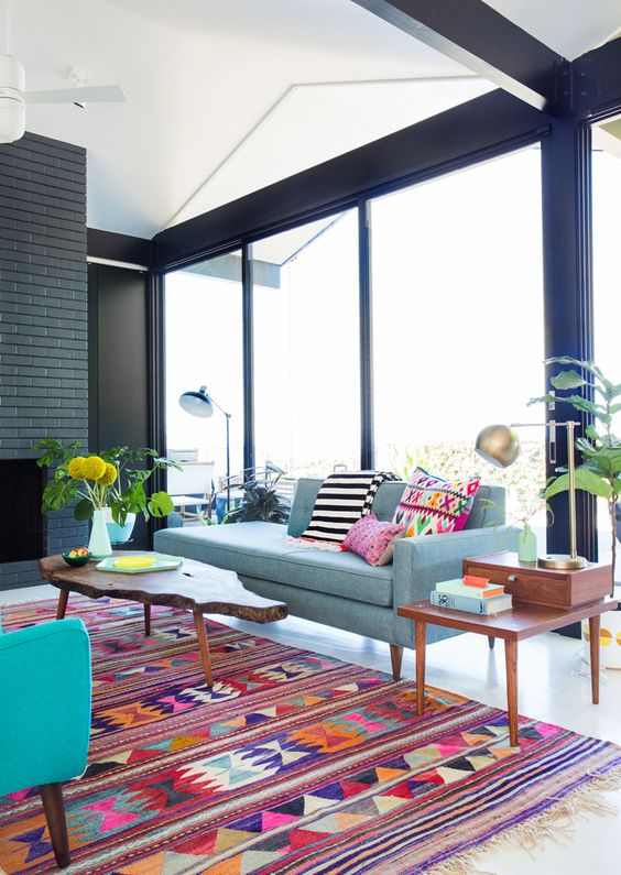 Picture Of gorgeous airy mid century modern living rooms  26