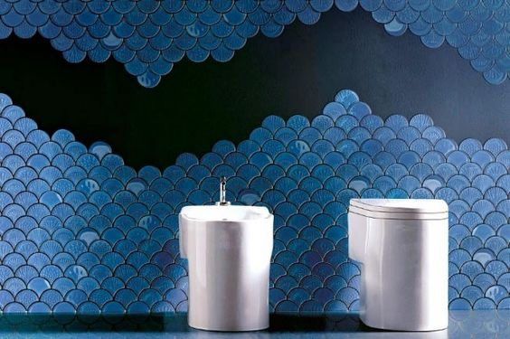 Picture Of gorgeous and eye catching fish scale tiles decor ideas  26