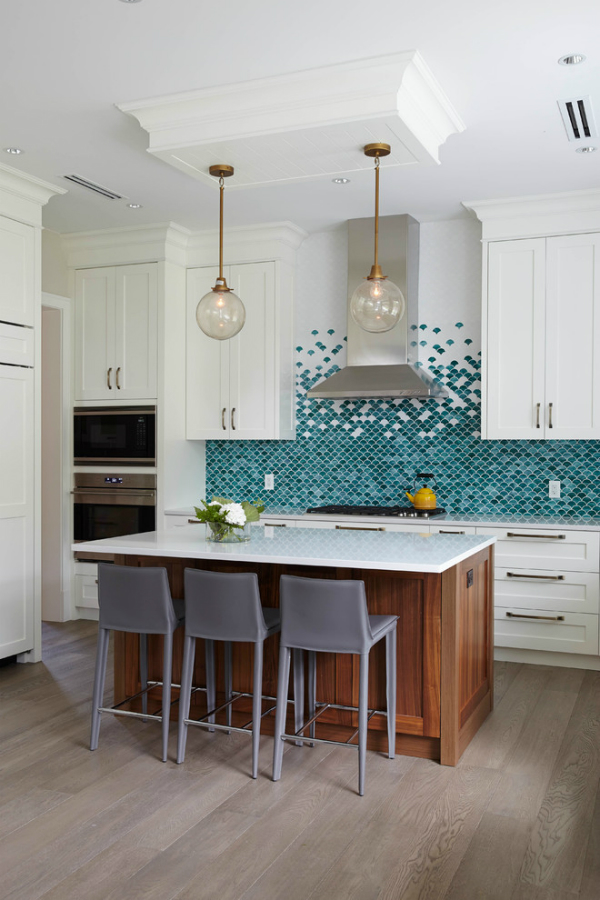 Picture Of gorgeous and eye catching fish scale tiles decor ideas  9