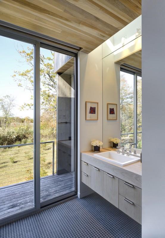 Gorgeous Floodplain Home With Unique Architecture