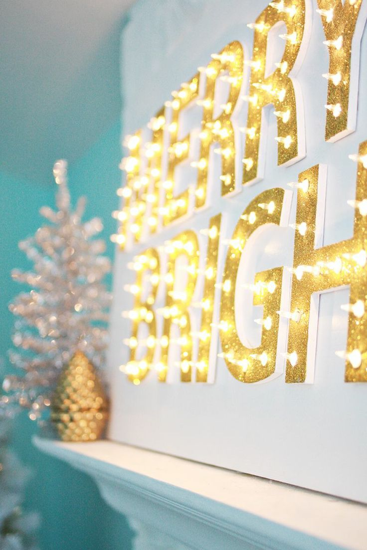 Indoor christmas decorations with lights - 31 Gorgeous Indoor D Cor Ideas With Christmas Lights