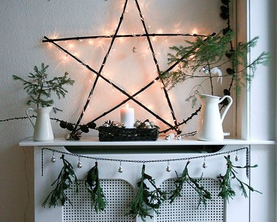 Gorgeous Indoor Decor Ideas With Christmas Lights