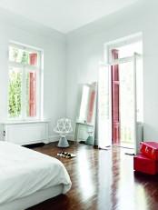 Greek Villa With Minimalist Aesthetics And Accent Floors