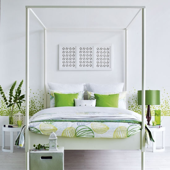 juicy green accents in bedrooms 59 stylish ideas digsdigs
