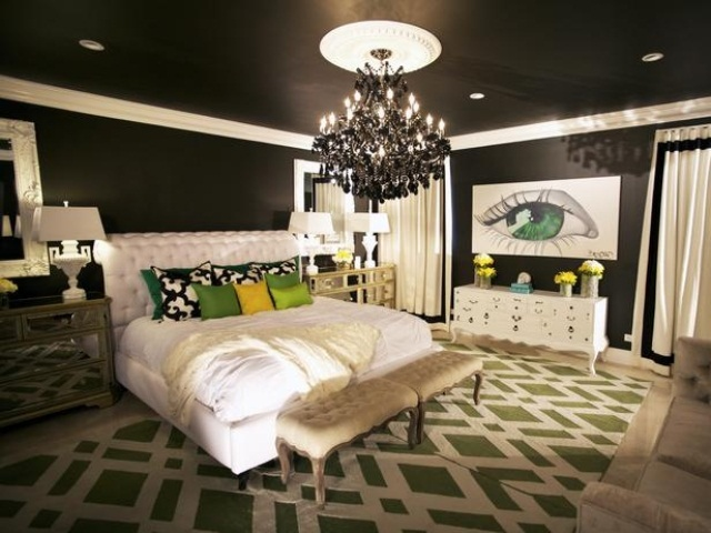 Juicy Green Accents In Bedrooms – 59 Stylish Ideas