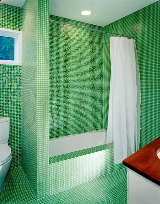 Merveilleux Green Bathroom Design Ideas