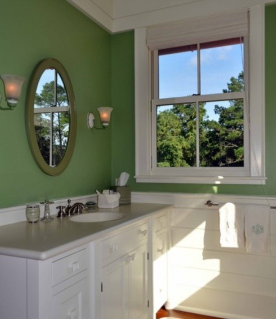 Red And Green Bathroom Design Ideas ~ Cool green bathroom design ideas digsdigs