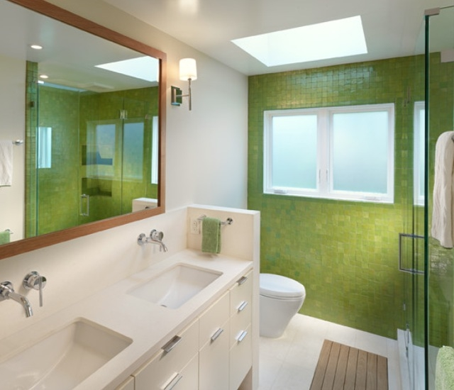 71 cool green bathroom design ideas digsdigs for Bathroom ideas channel 4