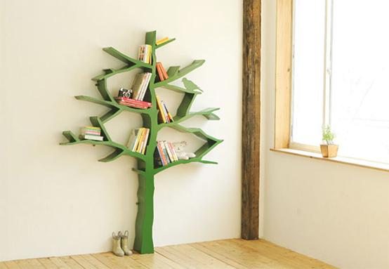 Green Tree Bookshelf