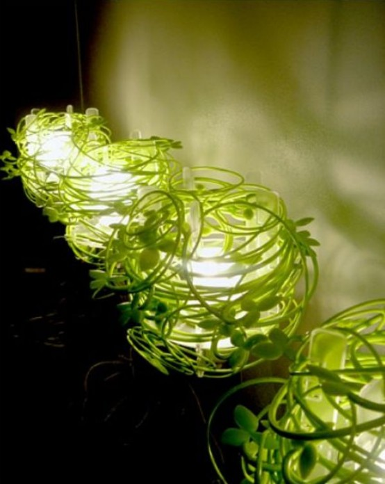 Green Vine Lamp A Piece Of Nature In Your House