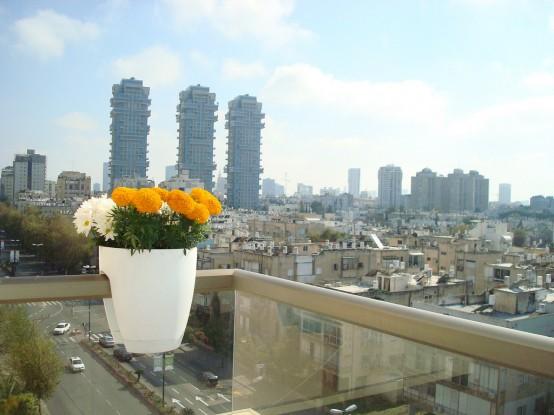 Greenbo Modern Balcony Planters