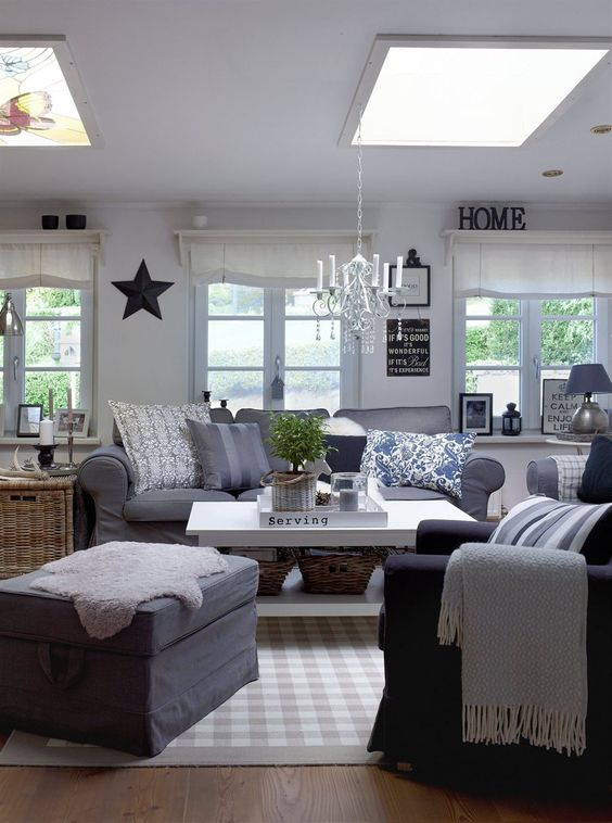 Cool Gray Beige Living Room Ideas