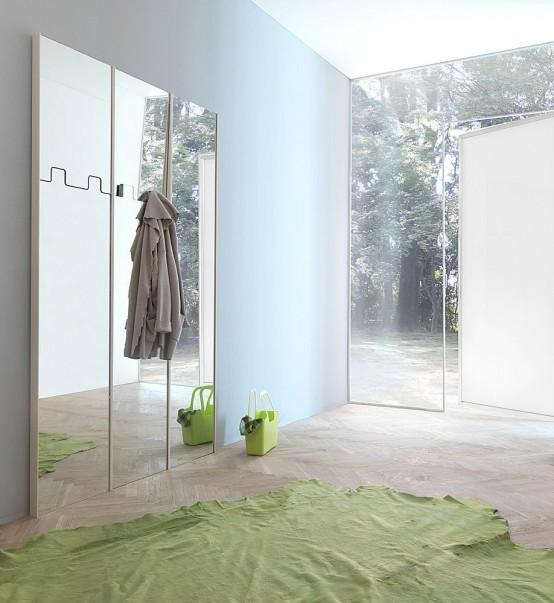 Gronda – Modular Mirror by Pallucco