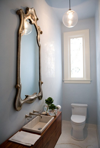 37 inspirational ideas to design a guest toilet digsdigs for Small wc design