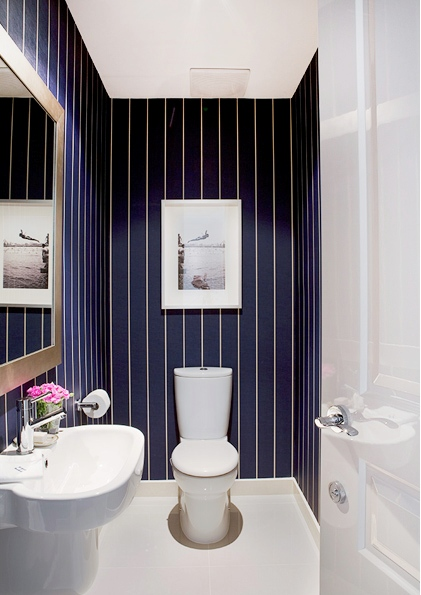 Inspirational Ideas To Design A Guest Toilet DigsDigs - Small toilet ideas