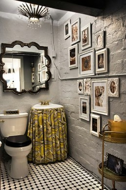Cute  Inspirational Ideas To Design A Guest Toilet