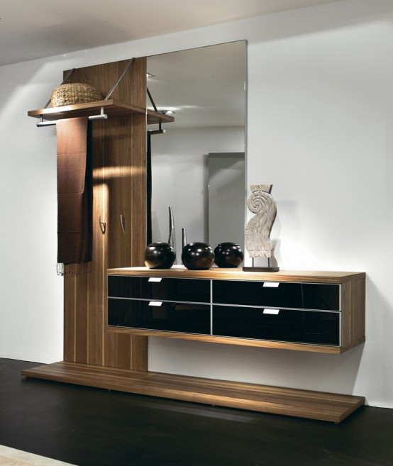 Ergonomc hall furniture by hulsta digsdigs for Contemporary foyer ideas