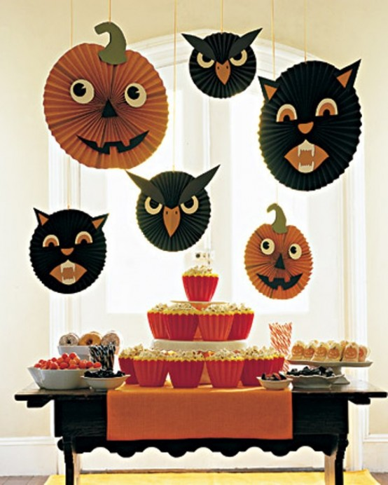 halloween decorations for the kids party - Non Scary Halloween Decorations