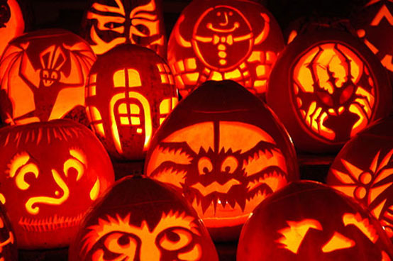 125 halloween pumpkin carving ideas digsdigs - Deco citrouille pour halloween ...