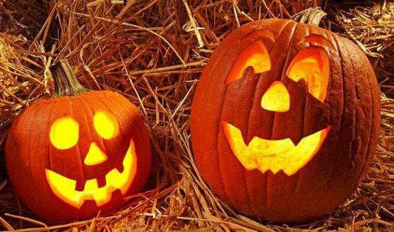 Awesome smiling jack-o-lantern ideas.