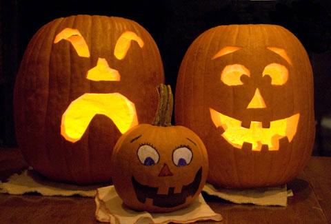 Halloween Pumpkin Carving Ideas