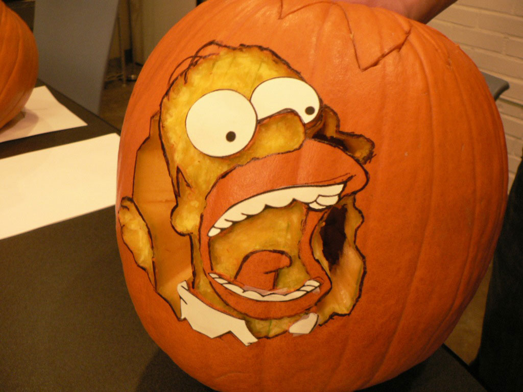 Amazing Homer Simpson Pumpkin Carving 1024 x 768 · 128 kB · jpeg