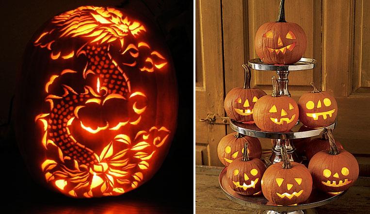 House decorations halloween pumpkin carving designs halloween pumpkin