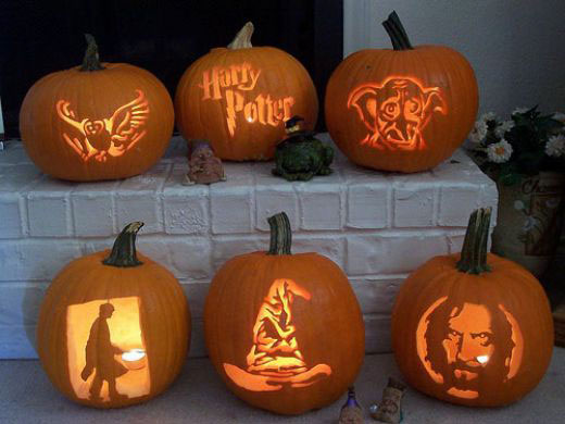 halloween pumpkin carving ideas - Cool Halloween Pumpkin Designs