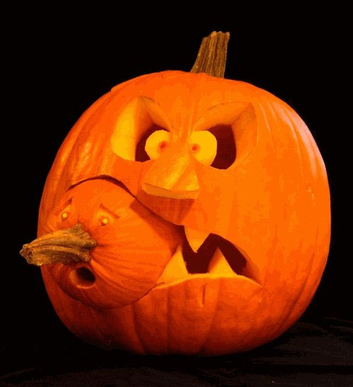 Halloween pumpkin carving ideas digsdigs