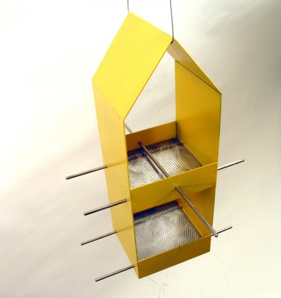 Sleek And Modern Bird Feeders by Joe Papendick