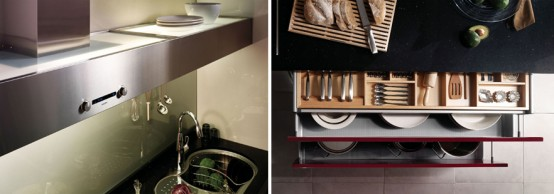 Hanssem Kitchen Bach 600 Muse Storage