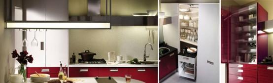 Hanssem Kitchen Bach 600 Storage
