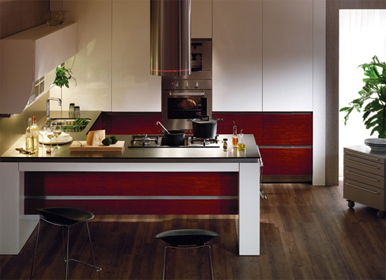 Hanssem Kitchenbach 600 Ruby Teak