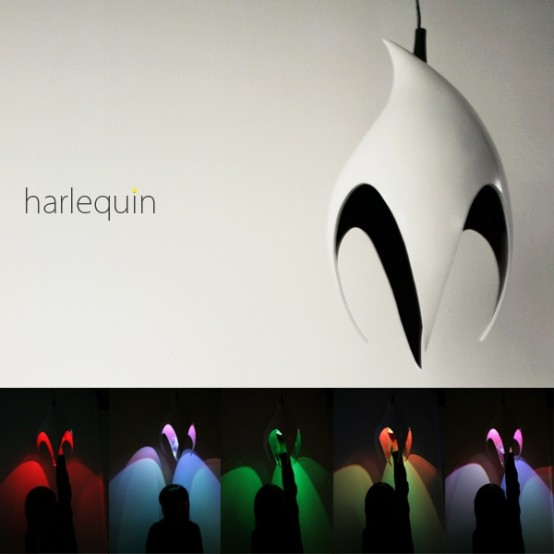 Harlequin Lamp