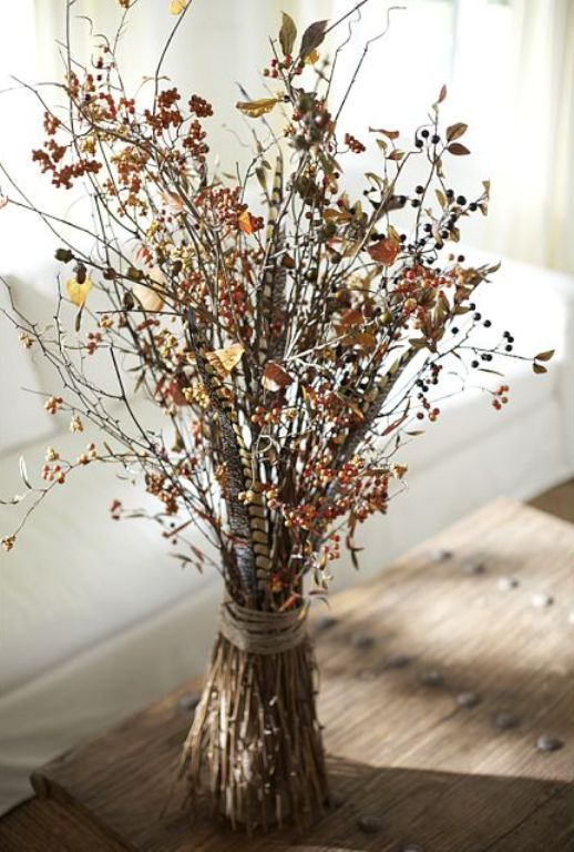 35 Harvest Decoration Ideas For Thanksgiving - DigsDigs
