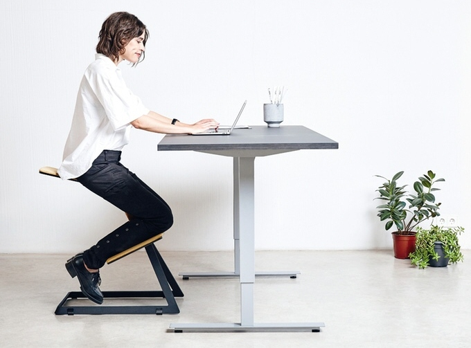 Picture Of healthy ergonomic chair that keeps your back straight  2
