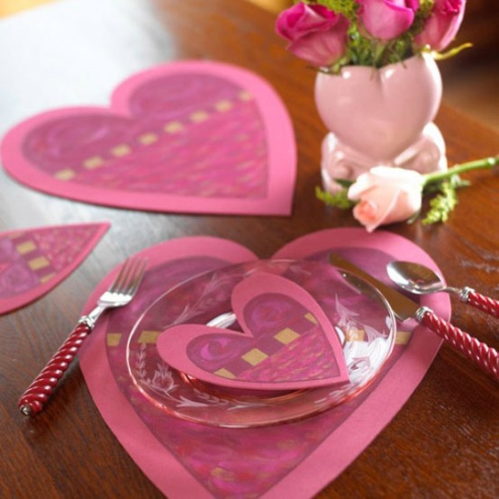 Heart Decorations For Valentine's Day