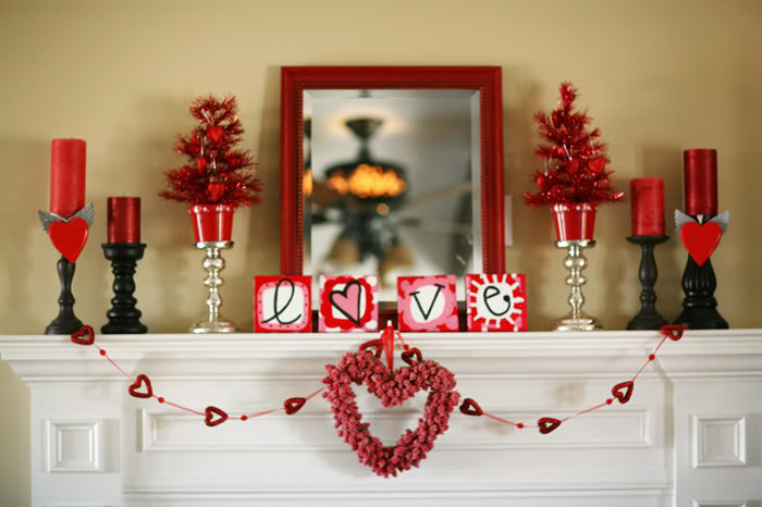 28 cool heart decorations for valentine s day digsdigs. Black Bedroom Furniture Sets. Home Design Ideas