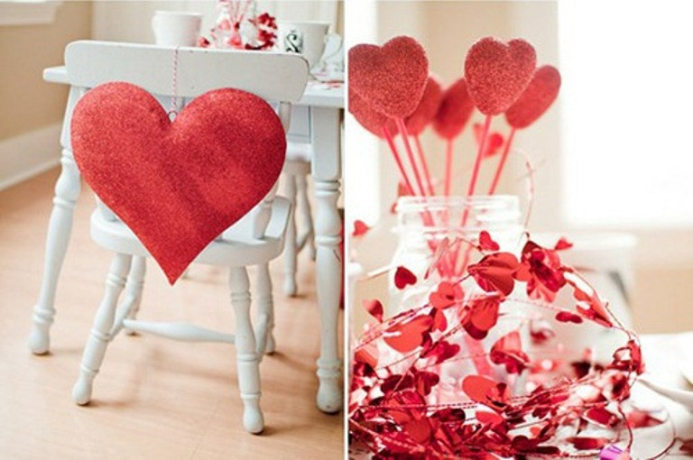 28 cool heart decorations for valentine s day digsdigs ForHeart Decoration Ideas