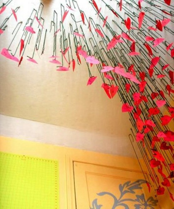28 cool heart decorations for valentine s day digsdigs for Valentine decorations to make at home