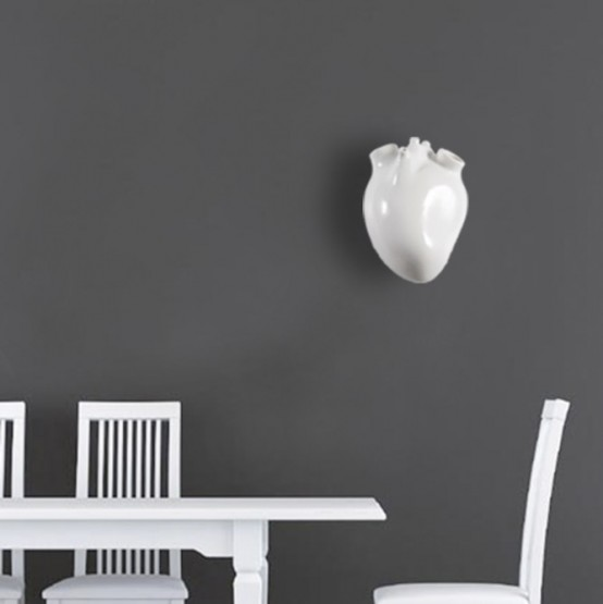 Heart Inspired Wall Lamp