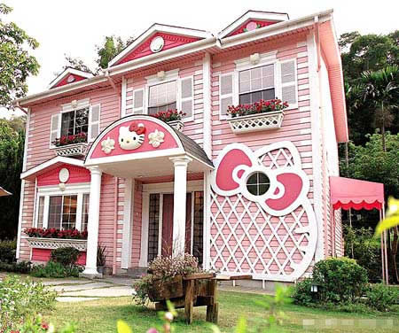 Hello Kitty House Design | DigsDigs